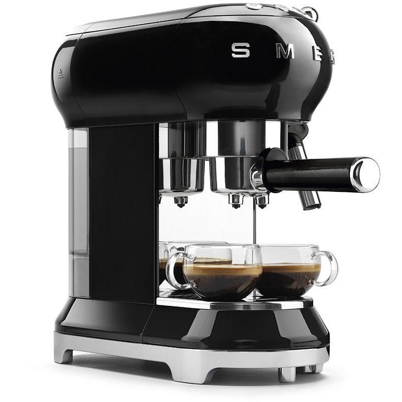 Smeg ECF01BLEU Macchina da caffè espresso Capacità 1 litro 15 Bar 1350 W Colore Nero