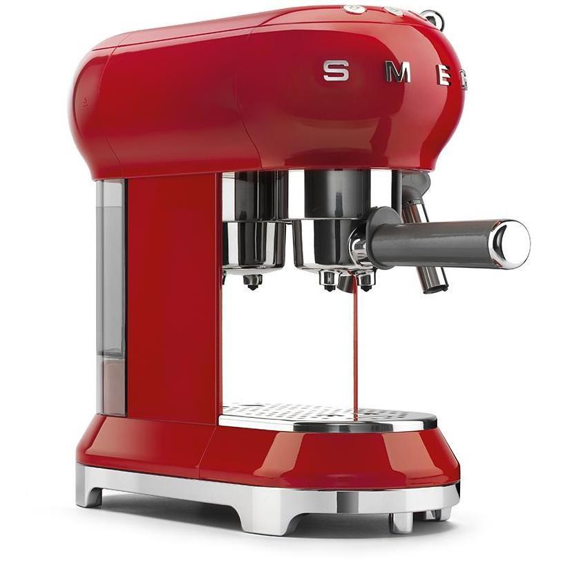 Smeg ECF01RDEU Macchina da caffè espresso Capacità 1 litro 15 Bar 1350 W Colore Rosso