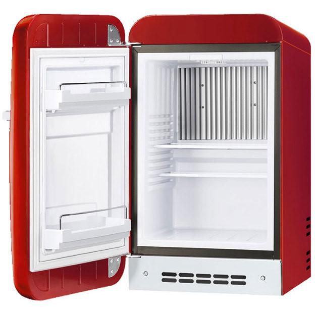 Smeg FAB5LRD frigorifero sottotavolo 31 Litri Classe D colore Rosso