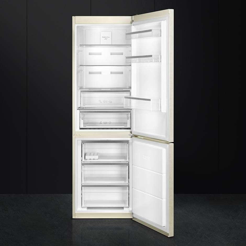 Smeg FC182PMNE frigorifero combinato 346 litri classe A++ No Frost colore marmo