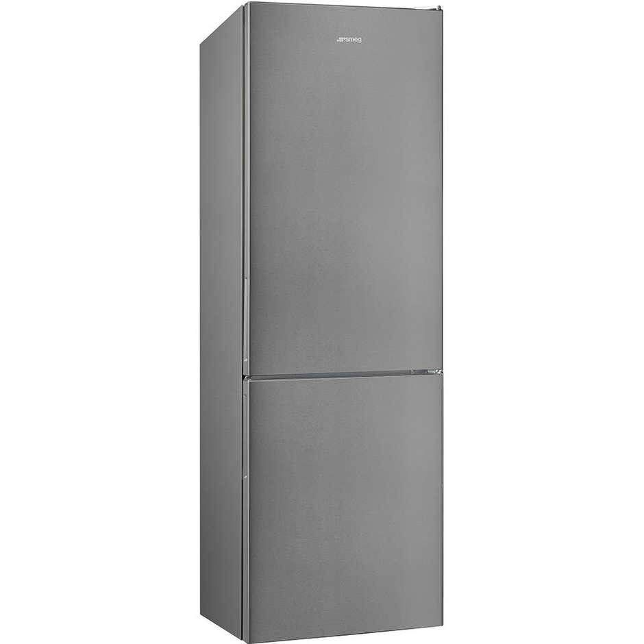 Smeg FC202PXN frigorifero combinato 382 litri classe A++ No Frost colore inox