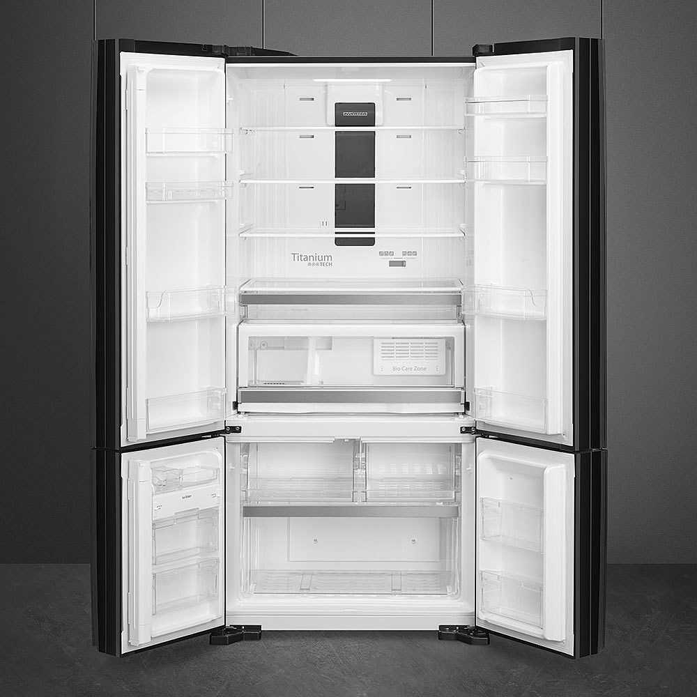 Frigorifero Americano Anni 50 smeg fq70gbe frigorifero side by side 590 litri classe a+