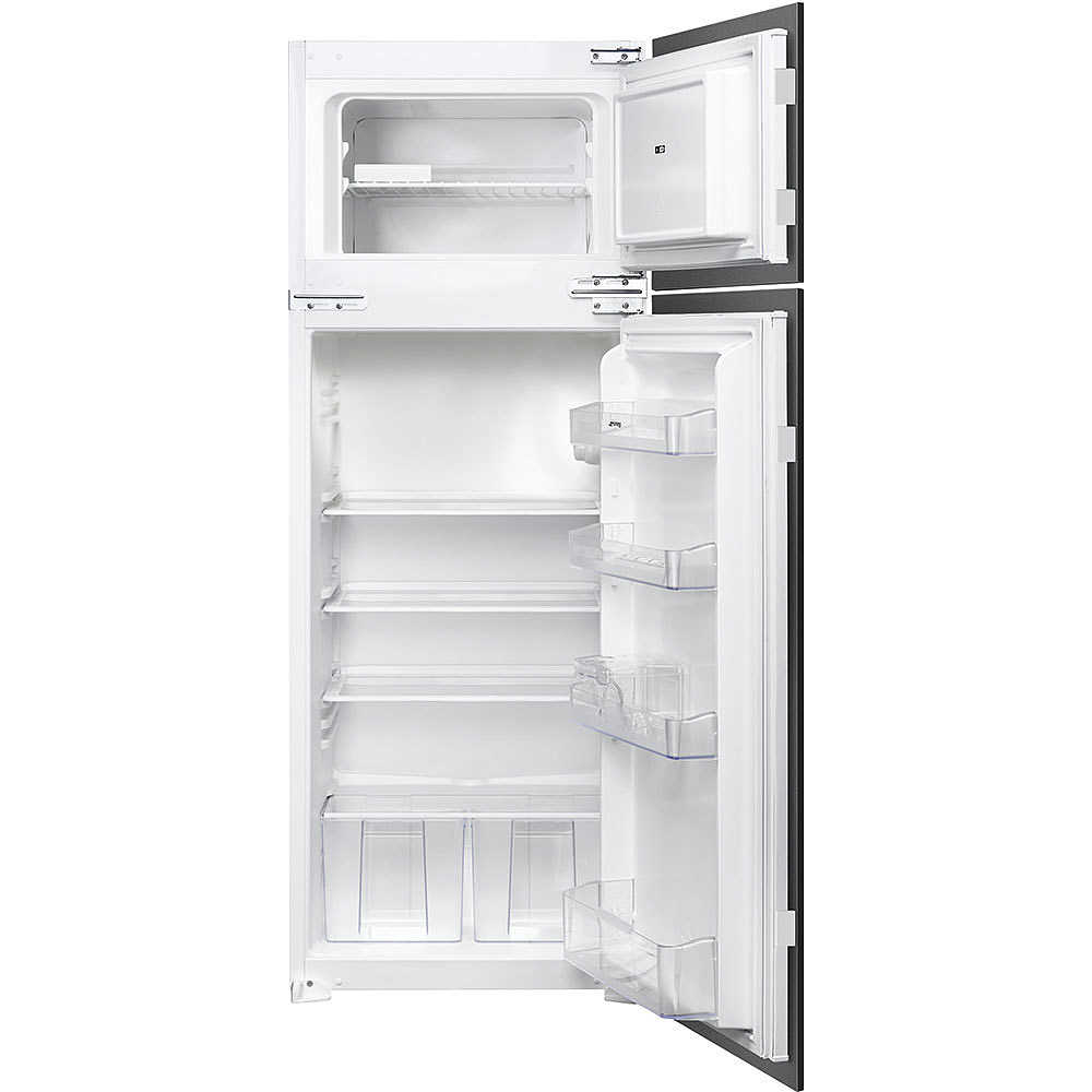 smeg fr232p frigorifero doppia porta da incasso 214 litri classe a statico frigo e. Black Bedroom Furniture Sets. Home Design Ideas