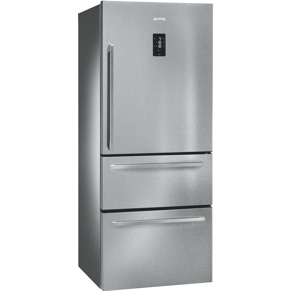 Smeg FT41BXE frigorifero side by side 466 litri classe A+ Total No Frost colore inox