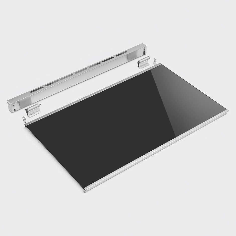 Smeg KITCPB9X Coperchio per cucine master da 90 cm Acciaio inox e vetro