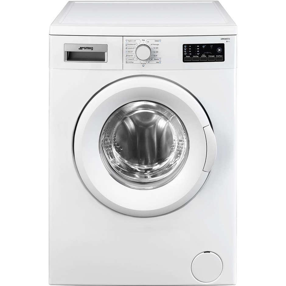 Smeg LBW508CIT-2 Lavatrice carica frontale 5 Kg 800 giri /min Classe A++ colore Bianco