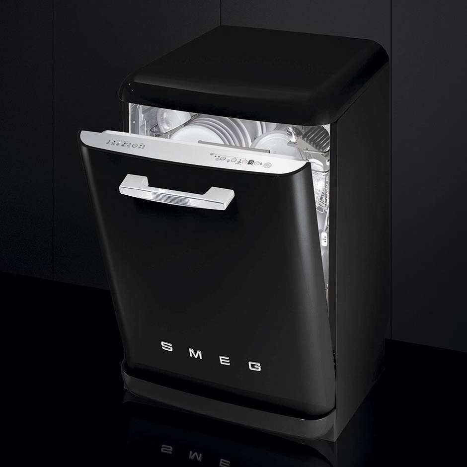 Smeg LVFABBL lavastoviglie 13 coperti 10 programmi classe A+++ colore nero