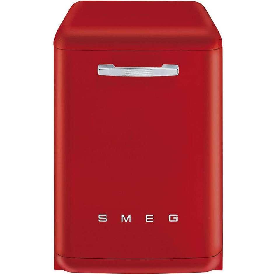 Smeg LVFABRD lavastoviglie 13 coperti 10 programmi classe A+++ colore rosso