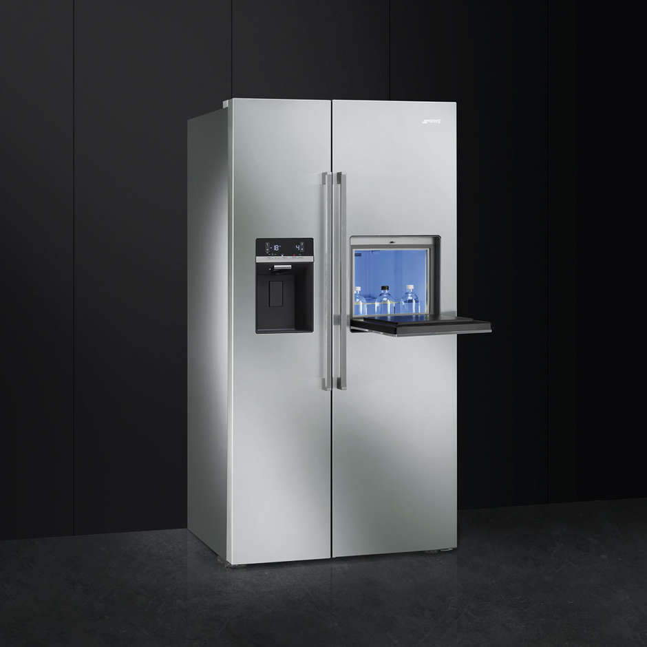 Smeg SBS63X2PEDH frigorifero side by side 544 litri classe A++ Total No Frost colore inox