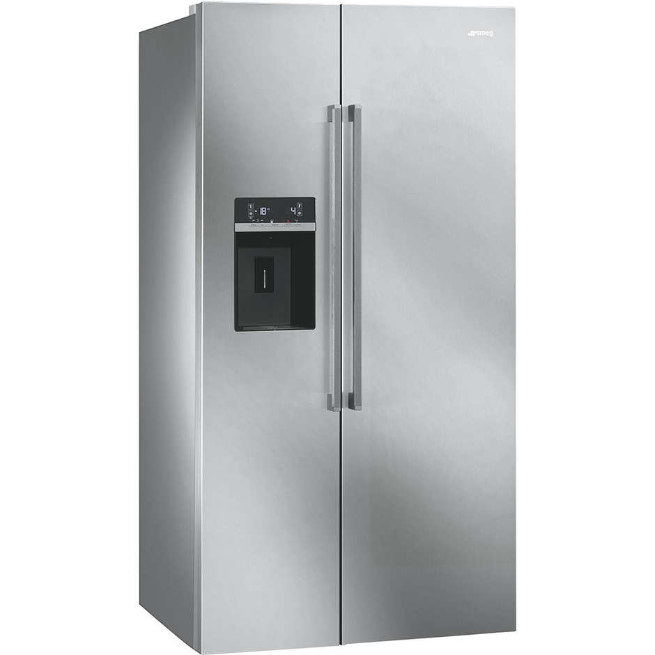 Smeg SBS63XED frigorifero side by side 544 litri classe A+ Total No Frost colore inox