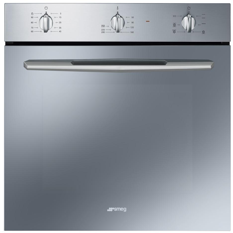 Smeg sf561x forno elettrico ventilato da incasso 61 litri classe a colore inox forni da - Forno ventilato da incasso ...