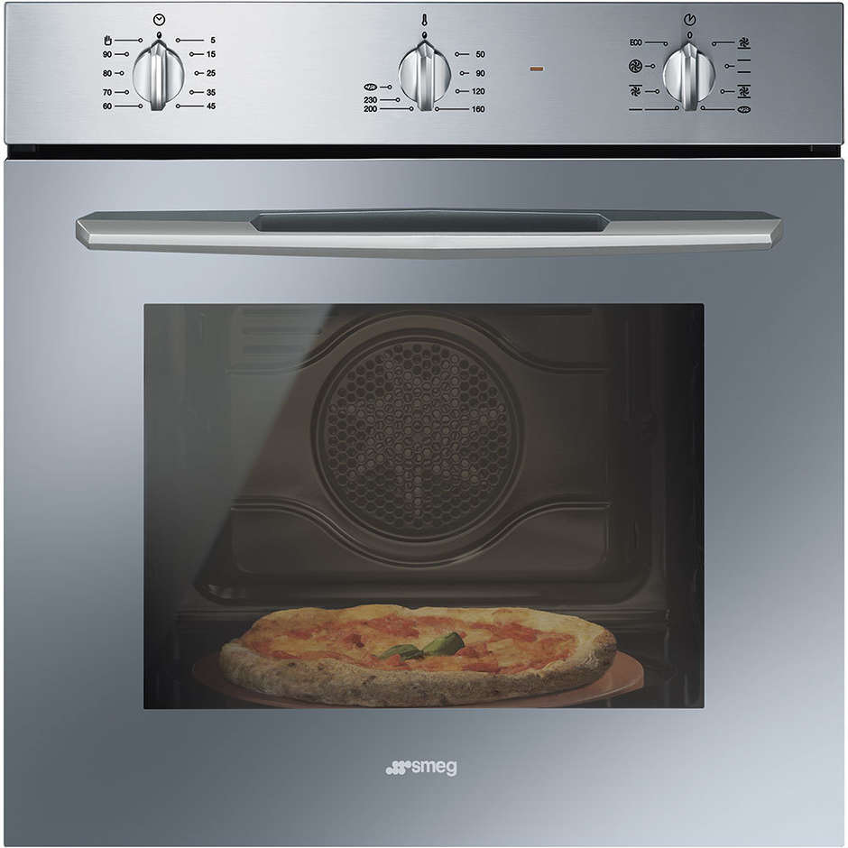 Smeg sf566xpz forno elettrico ventilato da incasso 65 - Il miglior forno elettrico da incasso ...