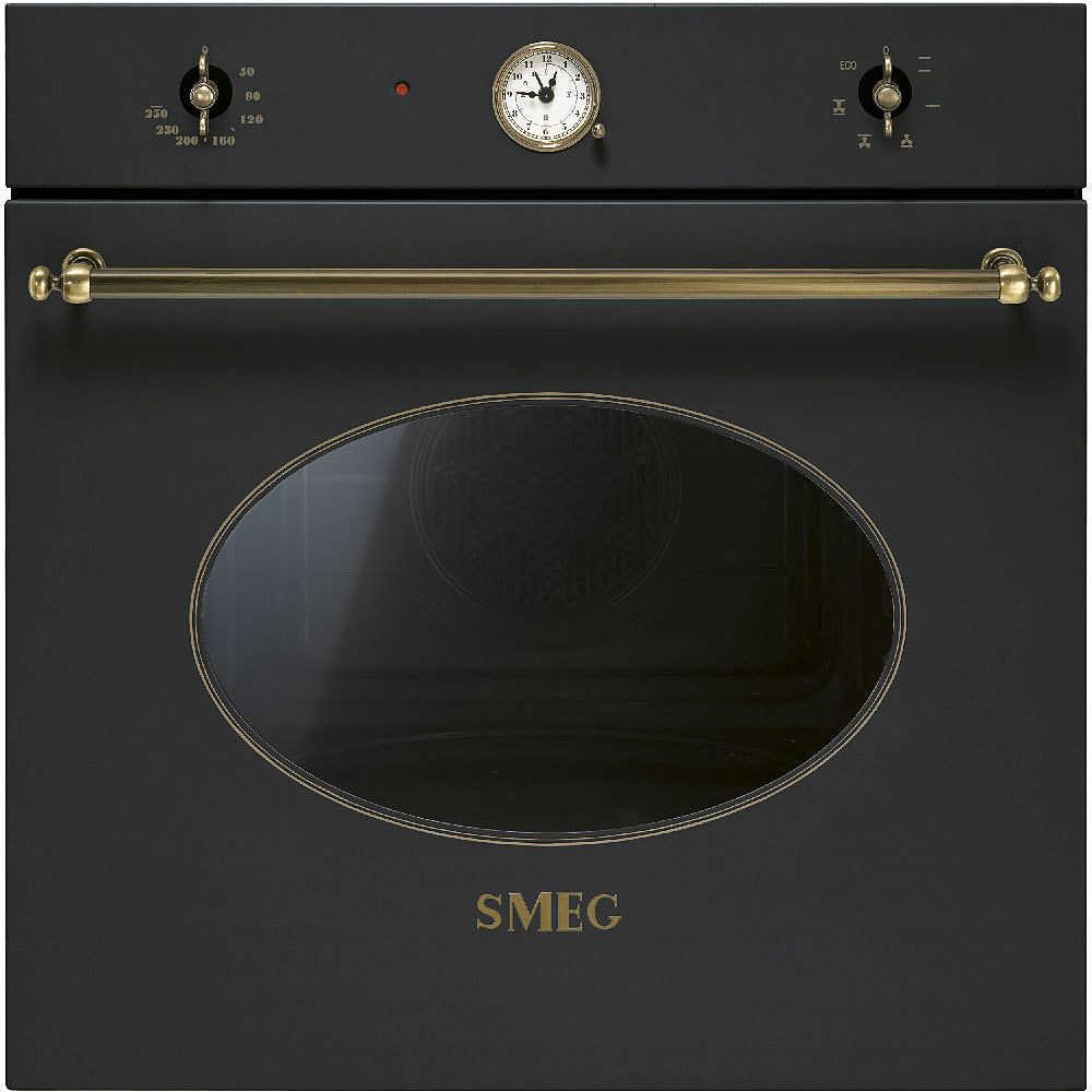 Lovely Smeg SF800AO Forno Elettrico Multifunzione Ventilato Da Incasso 70 Litri  Classe A Antracite