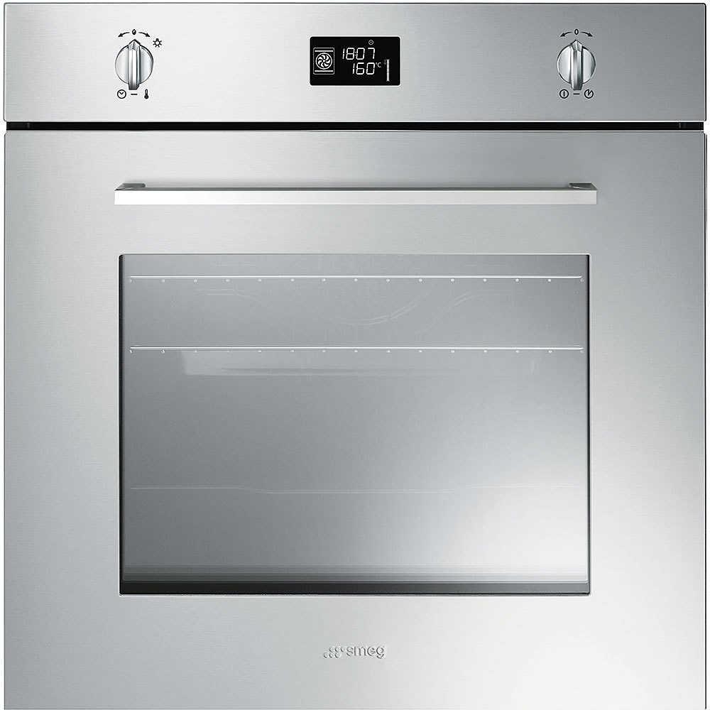 Smeg sfp496xe forno elettrico termoventilato da incasso 70 litri classe a pirolitico colore - Forno elettrico smeg da incasso ...