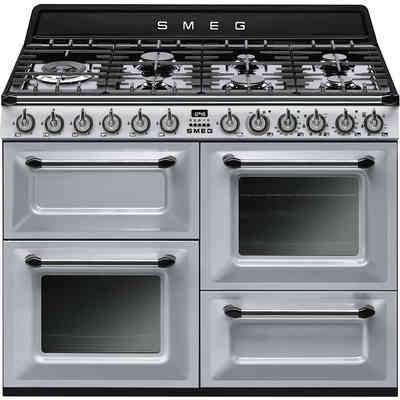 Cucine 7 fuochi grandi elettrodomestici online clickforshop - Cucina a gas smeg ...