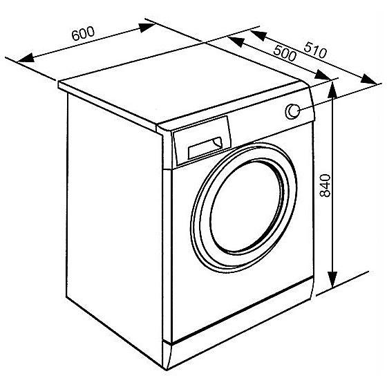 Smeg WHT712LIT lavatrice carica frontale 7 Kg 1200 giri classe A+++ colore bianco