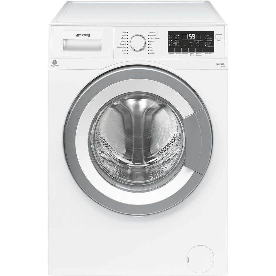 Smeg WHT812EIT-1 lavatrice carica frontale 8 Kg 1200 giri classe A+++ colore bianco
