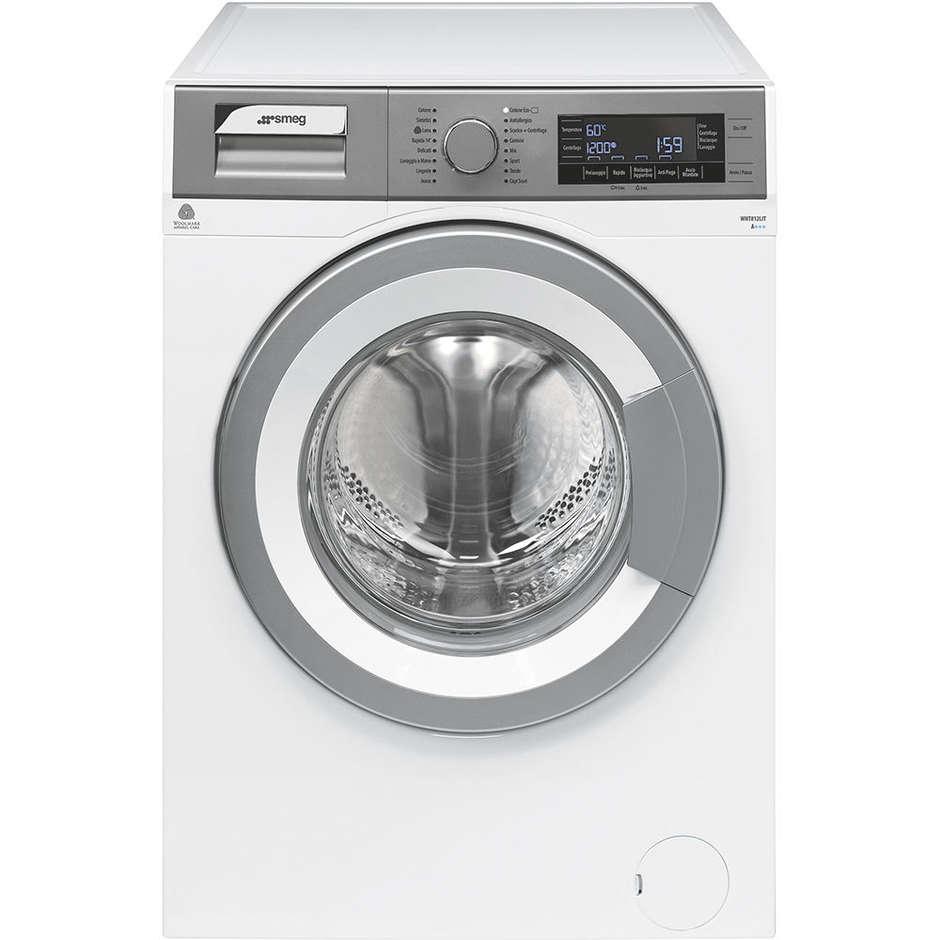 Smeg WHT812LIT lavatrice carica frontale 8 Kg 1200 giri classe A+++ colore bianco