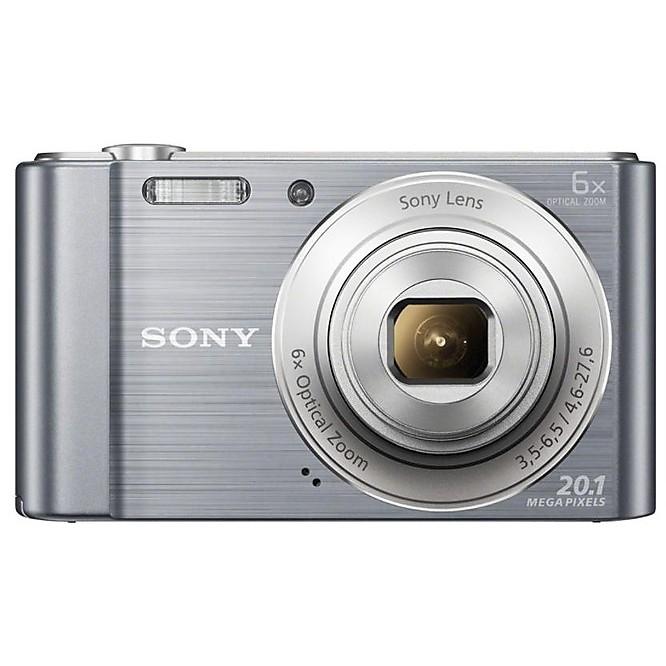 Sony DSC-W810 fotocamera digitale compatta zoom ottico 6x 20,1 Mpx colore argento