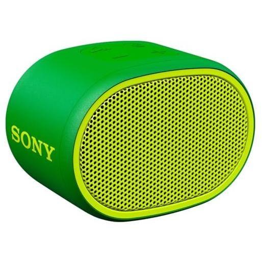 Sony SRS-XB01 diffusore speaker portatile Extra Bass Bluetooth colore verde
