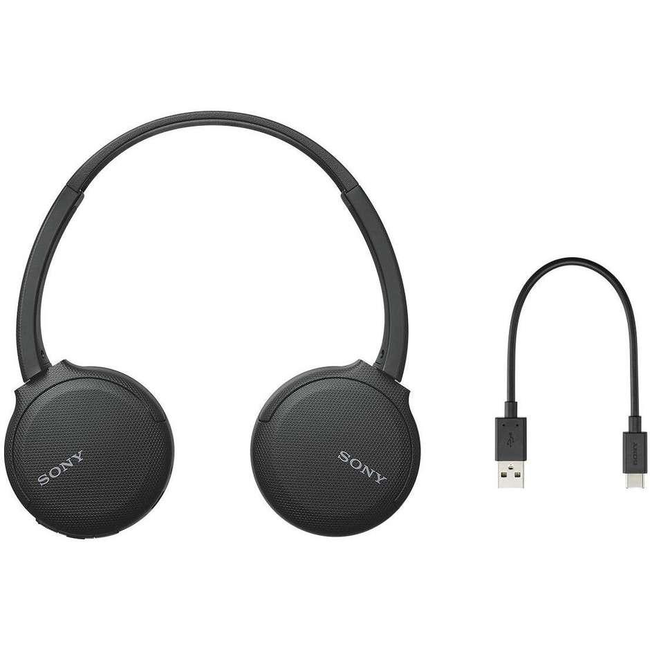 Sony WH-CH510 Cuffie wireless Bluetooth colore nero