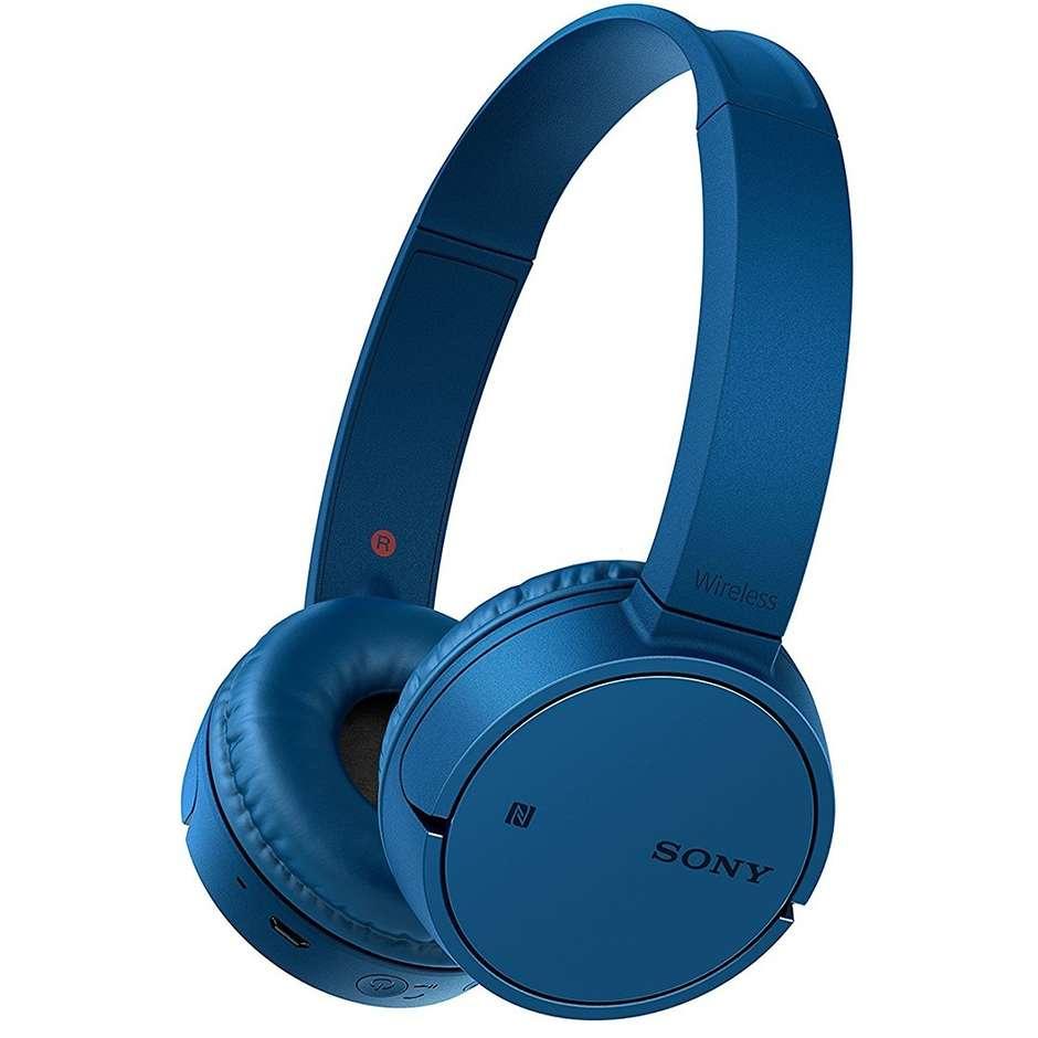 Sony WHCH500L.CE7 cuffie wireless Bluetooth autonomia 20 ore colore blu