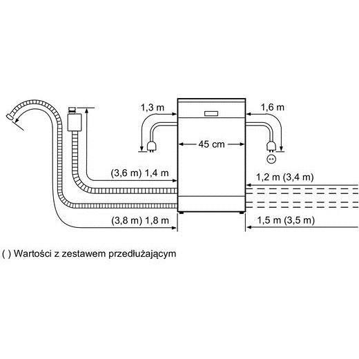 spv-53m8oeu bosch lavastoviglie 45 cm classe a++ 9 coperti