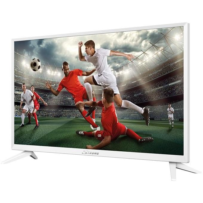 "Strong SRT 24HZ4003NW Tv LED 24"" HD Ready DVB-T2/C/S2 2 HDMI 1 USB classe A+ colore bianco"