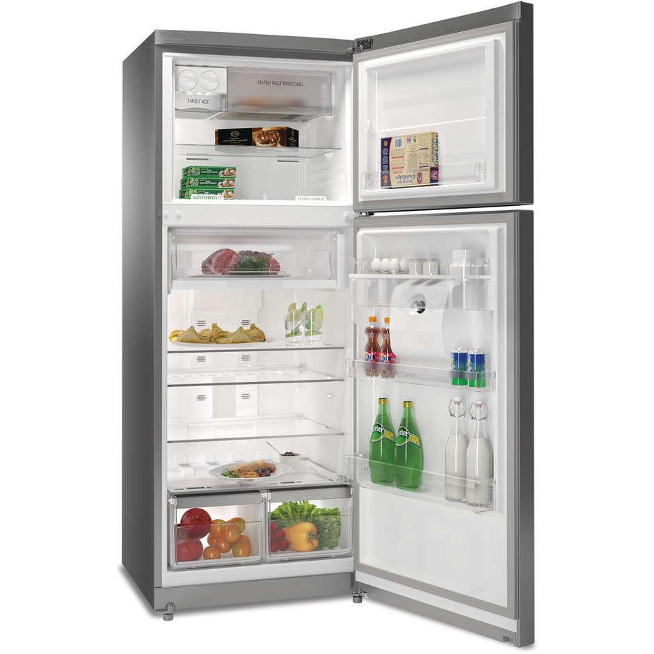 t tnf 8211 ox aqua whirlpool frigorifero doppia porta 418 litri classe a total no frost inox On frigoriferi doppia porta classe a