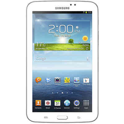 SAMSUNG Tablet samsung white galaxy 3 7.0 and sm-t2110 Android