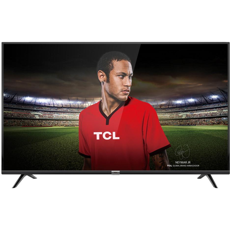 """TCL 50DP600 Tv LED 50"""" 4K Ultra HD Smart Tv Classe A+ Wifi 3HDMI colore Nero"""