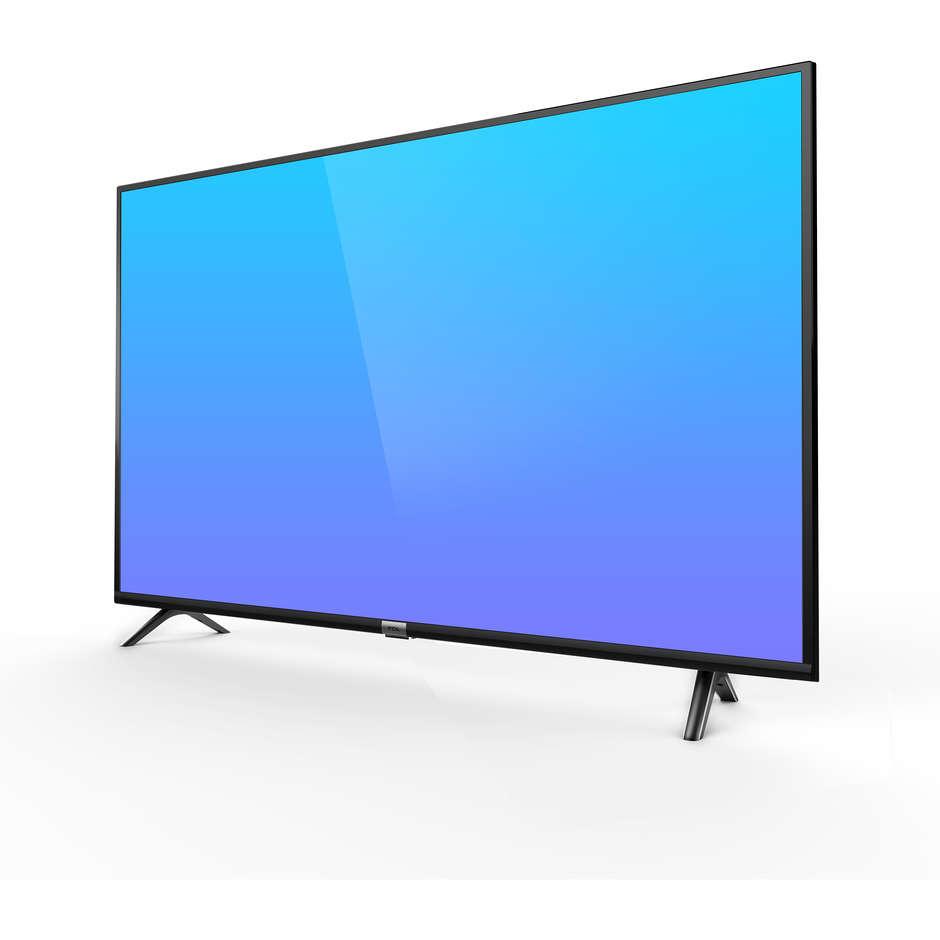 "TCL 65DP600 TV Led 65"" 4K Ultra HD Smart TV Classe A+ Wifi colore Nero"