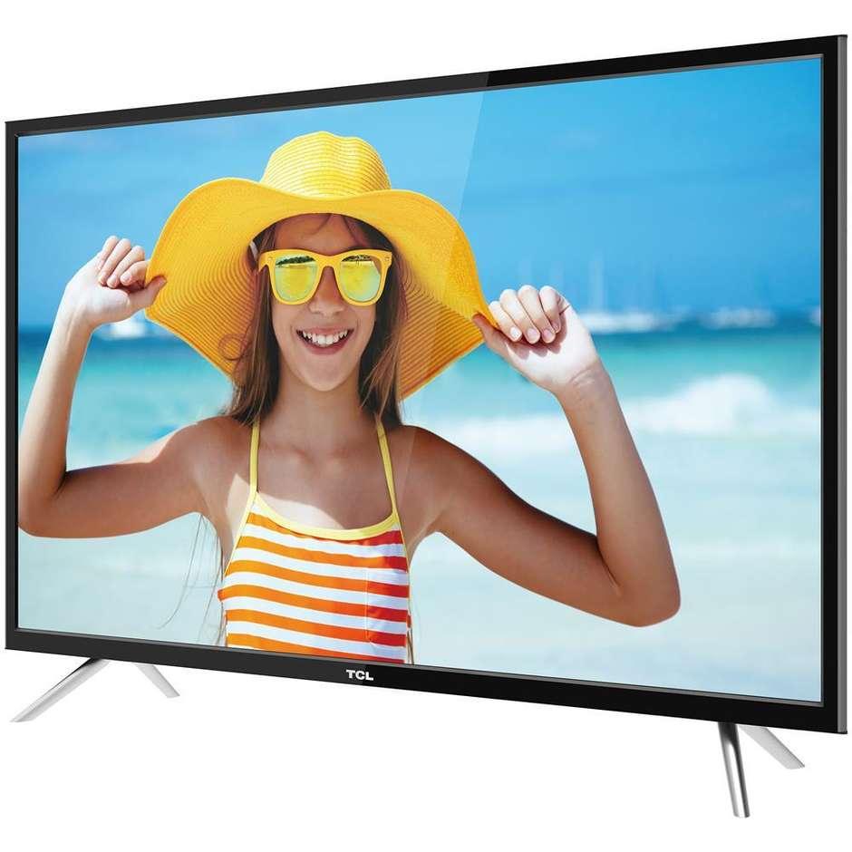 TCL U43P6006 Televisore LED 43 pollici 4K UHD HDR Smart TV classe energetica A colore Nero