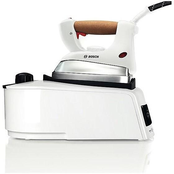 tds 1650 bosch ferro cald.pressione 2400w 5bar piast.inox bianco