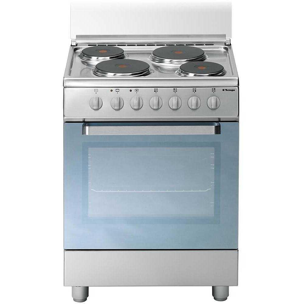 Tecnogas d655x cucina 60x50 4 piastre elettriche forno - Cucine con piastre elettriche ...