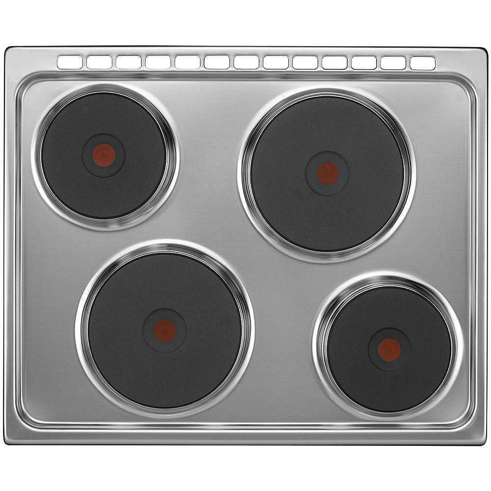 Tecnogas d655x cucina 60x50 4 piastre elettriche forno elettrico 55 litri classe a colore inox - Piastre per cucinare elettriche ...