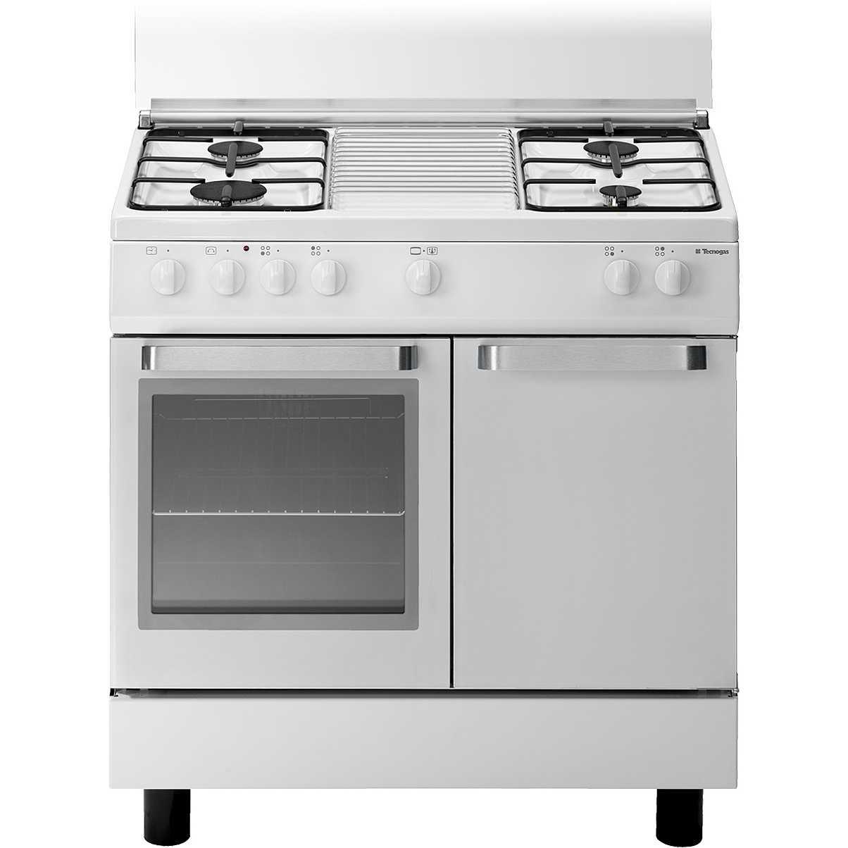 Tecnogas d833ws cucina 80x50 4 fuochi a gas forno for Cucina elettrica ikea