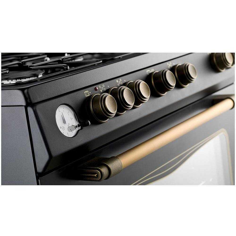 Tecnogas d855gn cucina 80x50 5 fuochi a gas forno a gas - Eprice cucine a gas ...