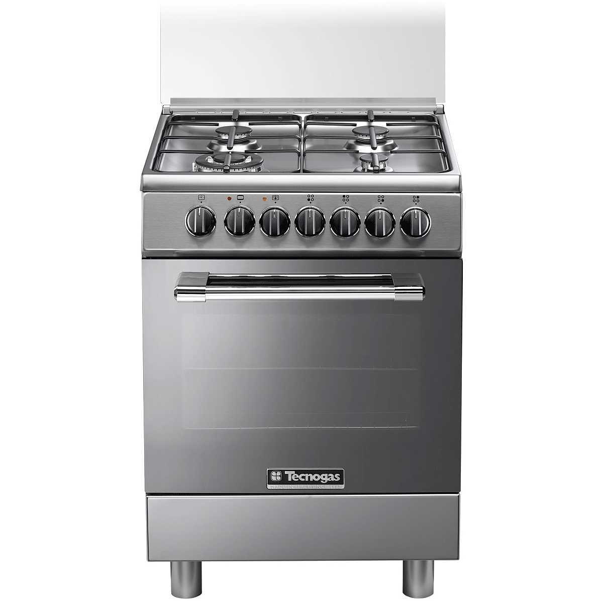 Tecnogas p664gvx cucina 60x60 4 fuochi a gas forno a gas ventilato con grill elettrico colore - Cucina a gas tecnogas ...