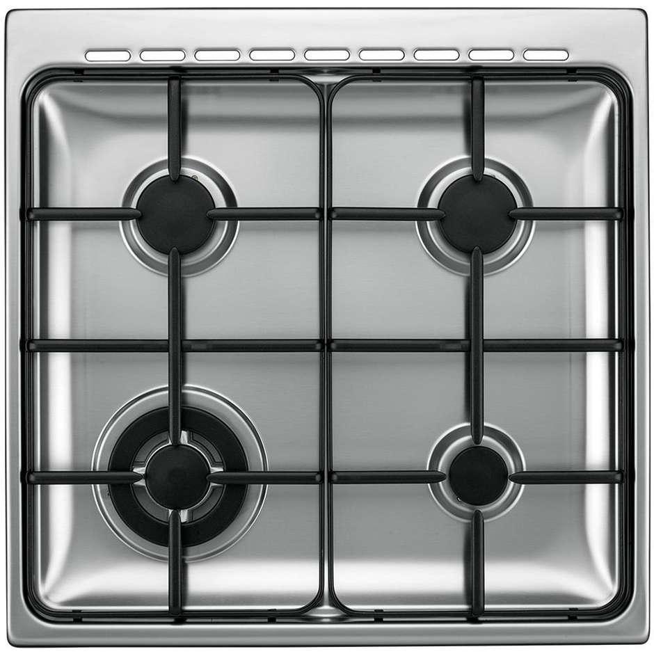 Tecnogas p664gvx cucina 60x60 4 fuochi a gas forno a gas ventilato con grill elettrico colore - Cucina con forno ventilato ...