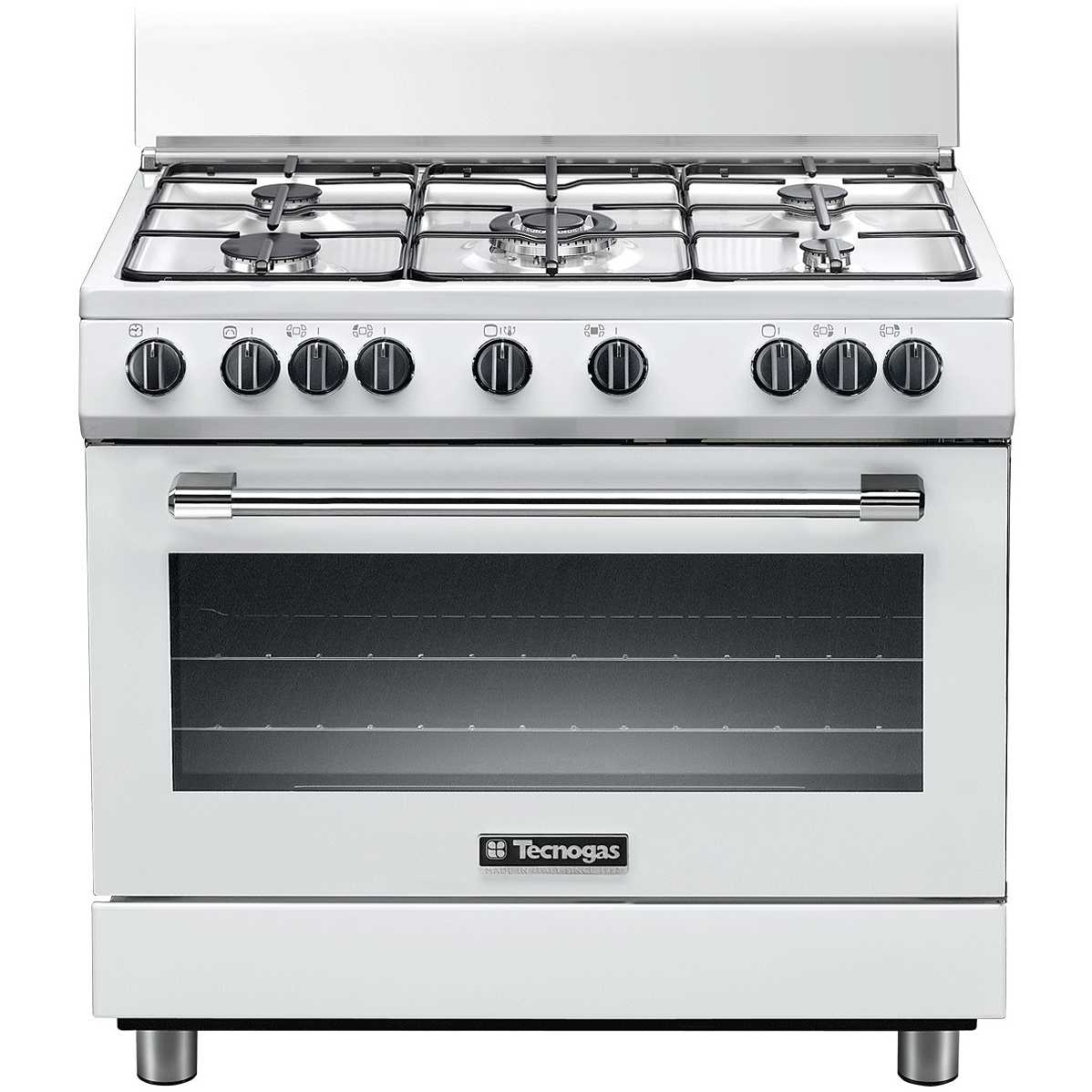 Tecnogas p965gvw cucina 90x60 5 fuochi a gas forno a gas - Eprice cucine a gas ...