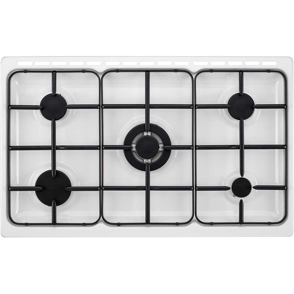 Tecnogas p965gvw cucina 90x60 5 fuochi a gas forno a gas ventilato con grill elettrico 103 litri - Cucina con forno a gas ventilato ...