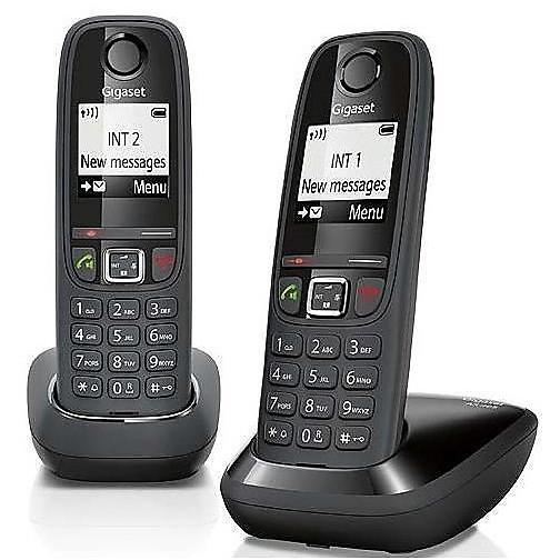 Telefono cordless gigaset as 405 duo
