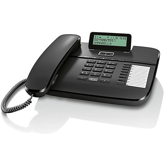 Telefono fisso da 710 black