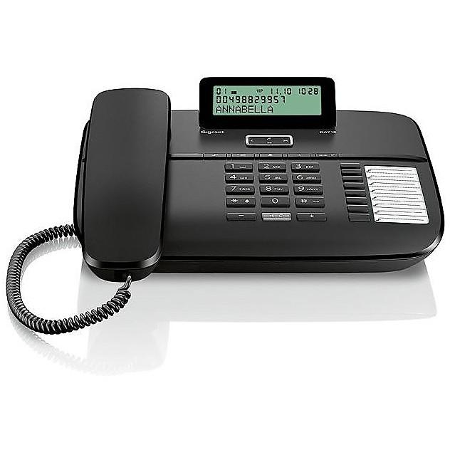 Telefono fisso da 710 black