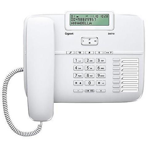 Telefono fisso da 710 white