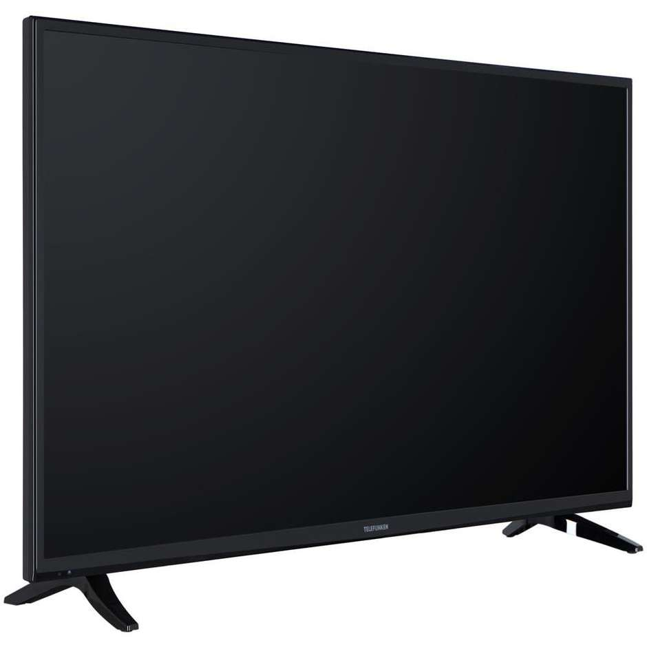 Telefunken TE49282B34 Smart TV LED Full HD 49 pollici colore Nero