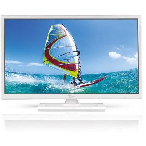 "Telesystem PALCO24 LED07W Tv LED 24"" HD T2/T2 HEVC classe B bianco"