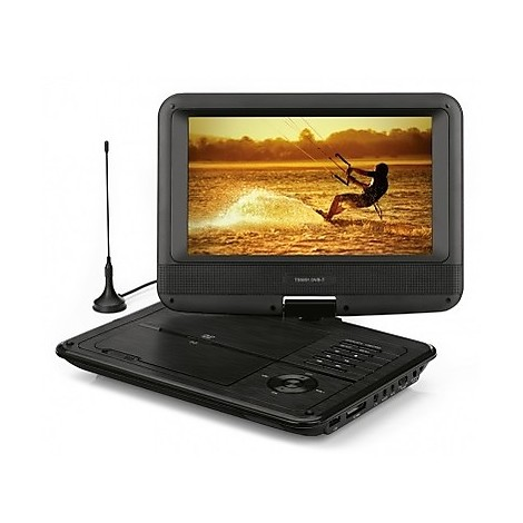 TELESYSTEM TS-5051 Lettore DVD Portatile da 9'' DVB-T  USB PVR
