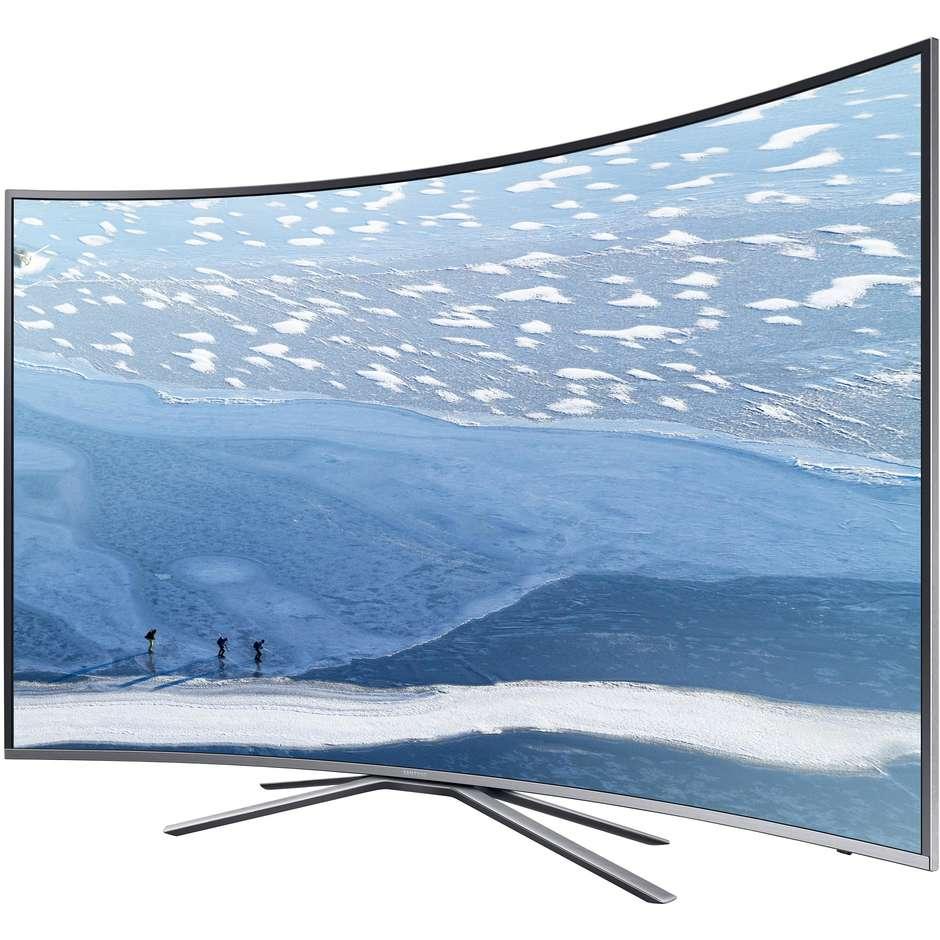 """Televisore UE43KU6500 Samsung 43"""" 4K smart curvo"""